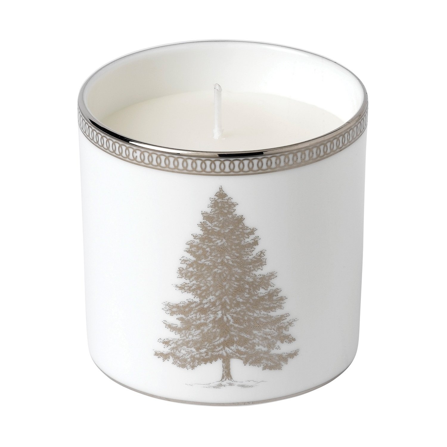 Christmas 2018 | Winter White Filled Candle | World of Wedgwood