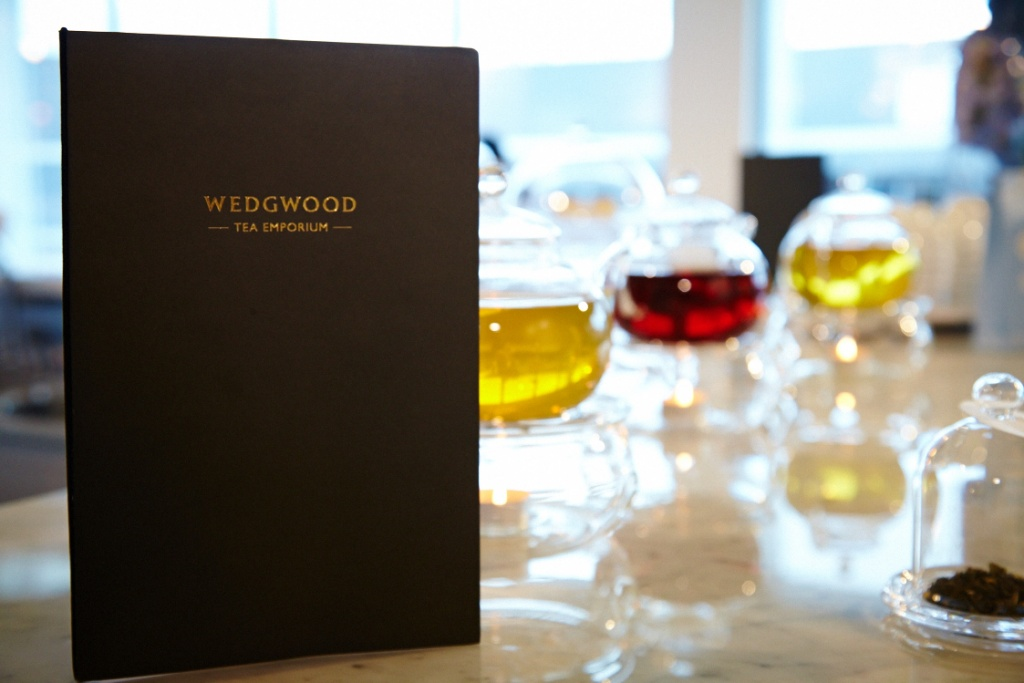 Wedgwood Tea Room Menu